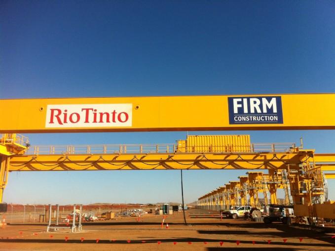 Flashbutt Welding Facility - Rio Tinto